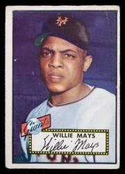 WILLIE MAYS 1952 TOPPS BASEBALL ROOKIE CARD