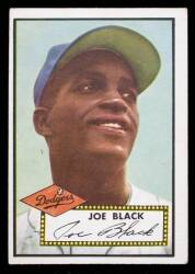 JOE BLACK 1952 TOPPS BASEBALL CARD