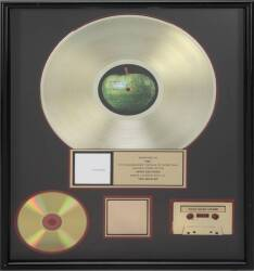 "THE BEATLES ""GOLD"" RECORD AWARD"