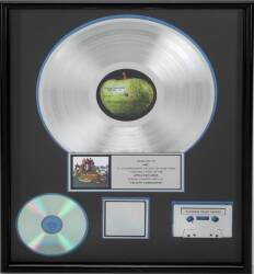 "THE BEATLES ""PLATINUM"" RECORD AWARD"
