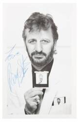 RINGO STARR SIGNED PHOTOGRAPH