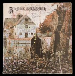 BLACK SABBATH SIGNED ALBUM