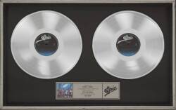 "THE JACKSONS ""MULTI-PLATINUM"" RECORD AWARD"