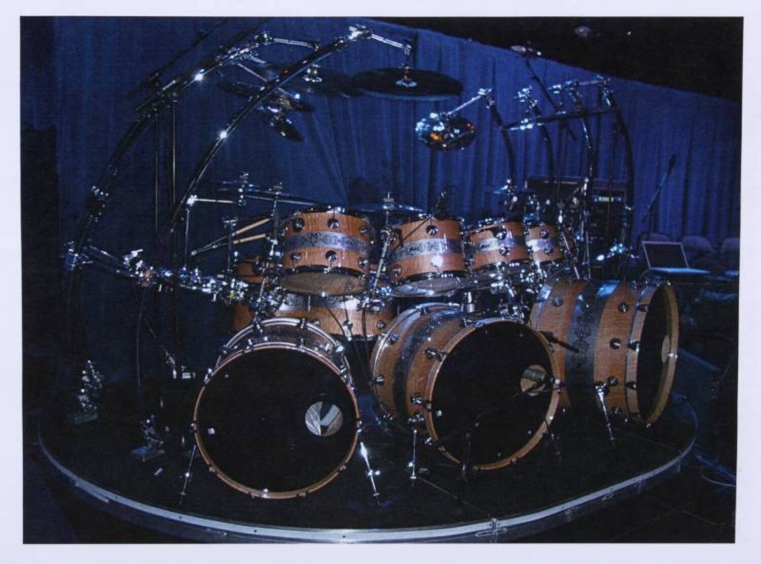 Michael Jackson This Is It Tour Drum Kit Current Price