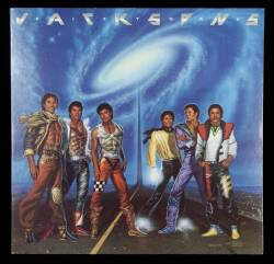 THE JACKSONS SIGNED VICTORY ALBUM SLEEVE