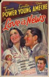 NAUGHTY MARIETTA AND LOVE IS NEWS POSTERS
