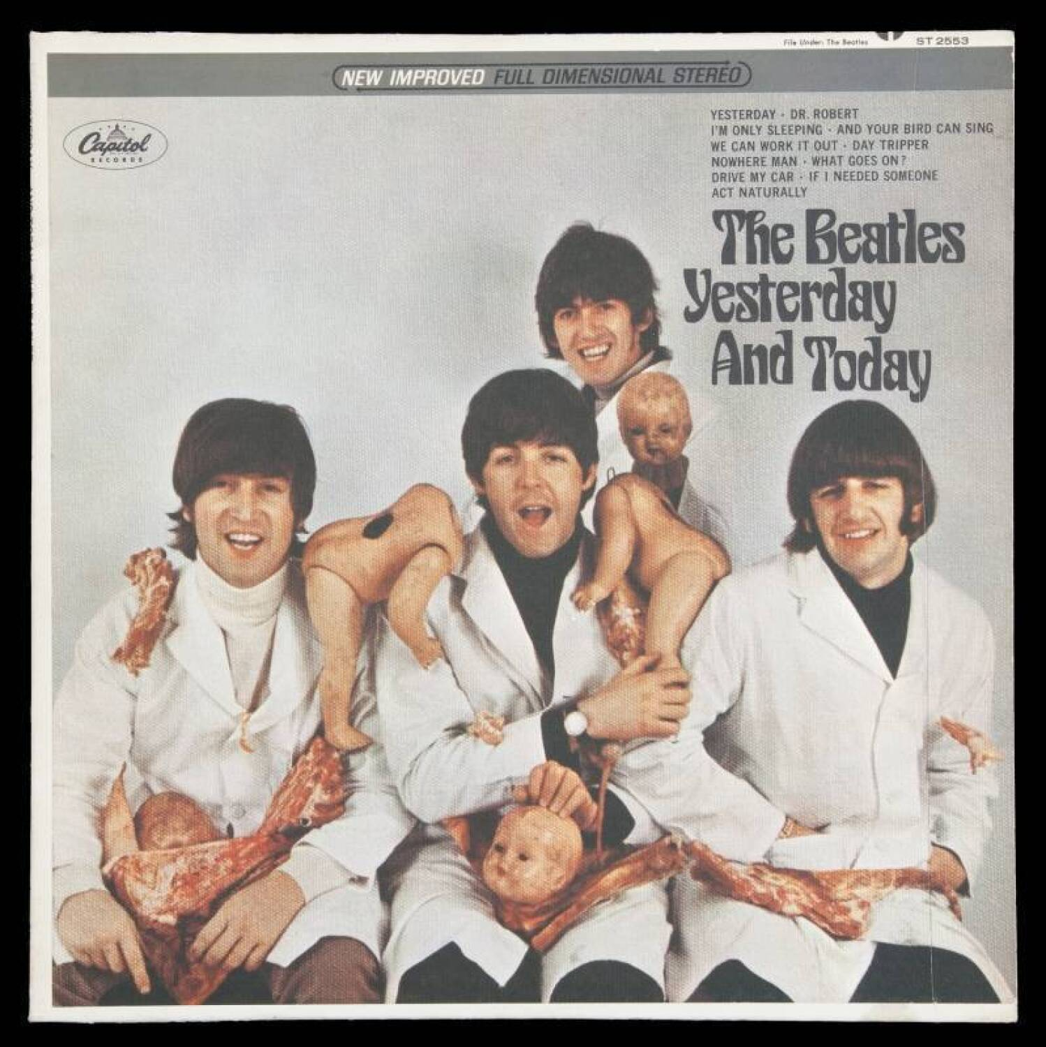 Image result for beatles first state album cover