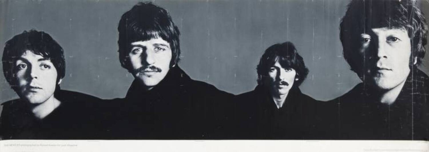 THE BEATLES RICHARD AVEDON POSTERS - Current price: $500