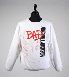 MICHAEL JACKSON SIGNED SWEATSHIRT