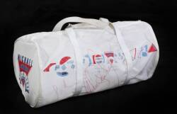 MICHAEL JACKSON SIGNED BAG