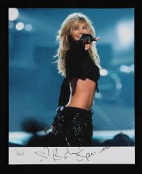 BRITNEY SPEARS SIGNED PHOTOGRAPH