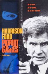 PATRIOT GAMES ADVERTISING POSTER PROOFS