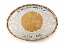 BROKEBACK MOUNTAIN BELT BUCKLE