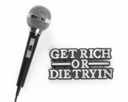 50 CENT MICROPHONE FROM GET RICH OR DIE TRYIN'