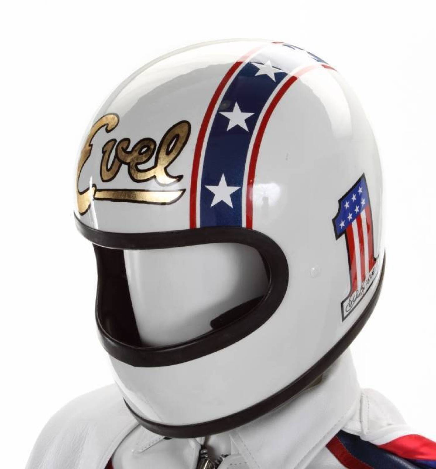 Motorcycle Helmets For Sale >> EVEL KNIEVEL SIGNED SUIT - Current price: $3750