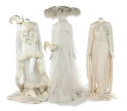 FUNNY GIRL BRIDAL SEQUENCE COSTUMES AND PROPS