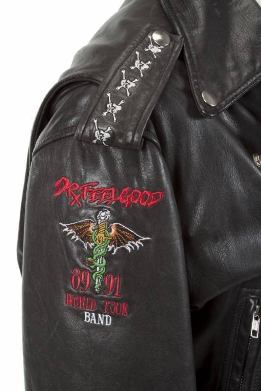 TOMMY LEE DR. FEELGOOD TOUR MOTORCYCLE JACKET - Current ...