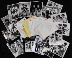 JACKSON FAMILY PROMOTIONAL IMAGES AND INTERVIEW MATERIALS ARCHIVE •