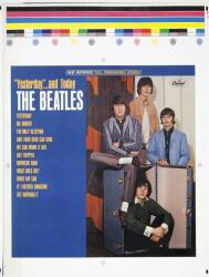 THE BEATLES YESTERDAY AND TODAY PRINTER'S PROOF •