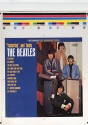 "THE BEATLES ""PURPLE TRUNK"" ALBUM COVER PRINTER'S PROOFS •"