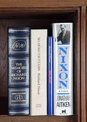 FOUR BOB HOPE OWNED RICHARD NIXON BOOKS
