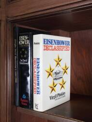 FOUR BOB HOPE OWNED DWIGHT D. EISENHOWER BOOKS