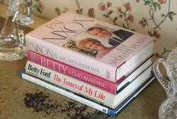 FOUR SIGNED AND INSCRIBED BOOKS ABOUT PRESIDENTIAL FIRST LADIES
