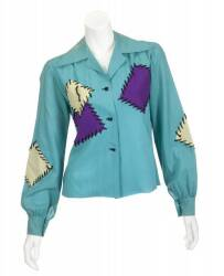 JANE WITHERS PUBLICITY WORN BLOUSE