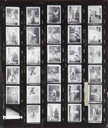 MARILYN MONROE SOMETHING'S GOT TO GIVE CONTACT SHEET