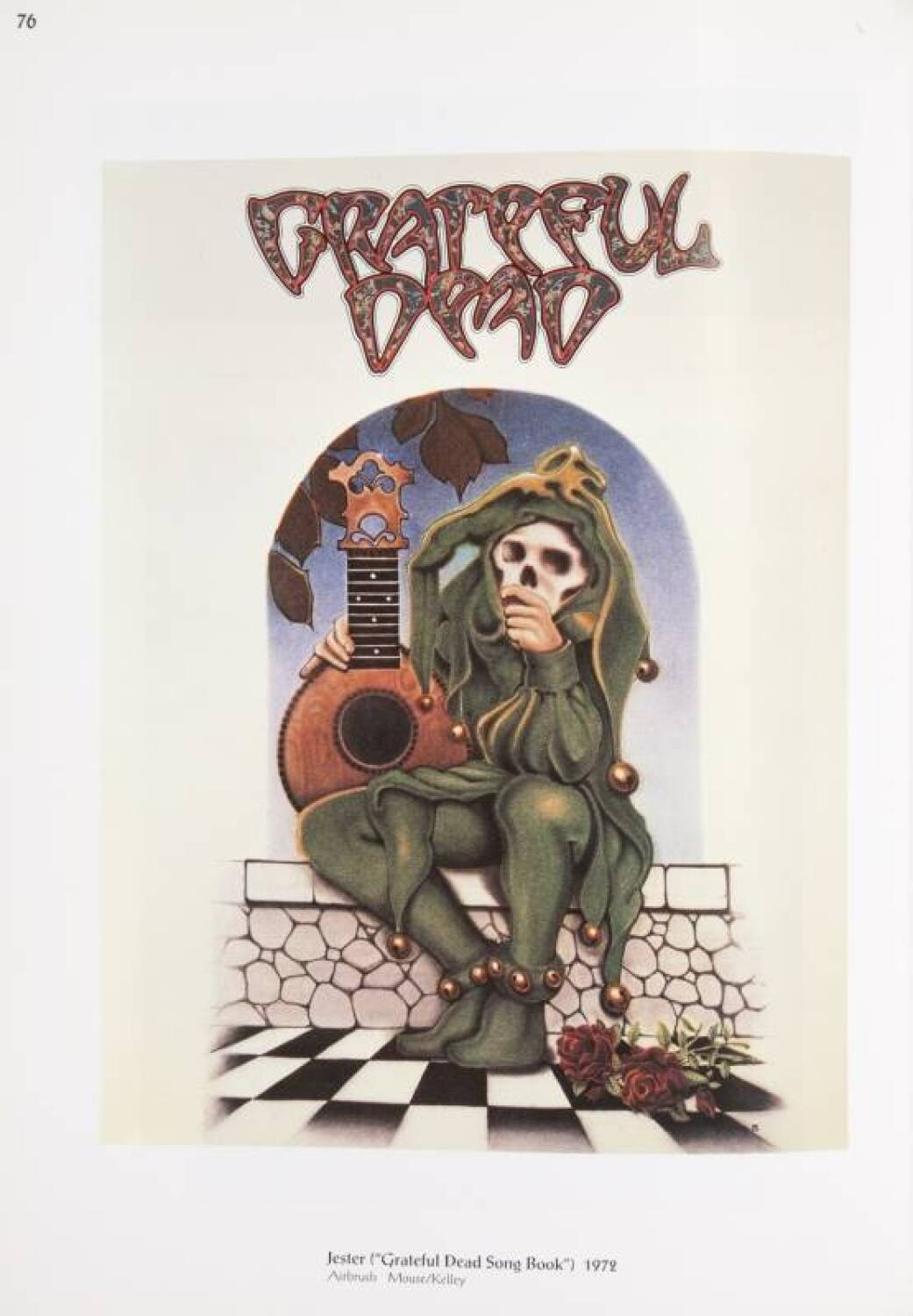 Stanley Mouse Grateful Dead Jester Painting Current