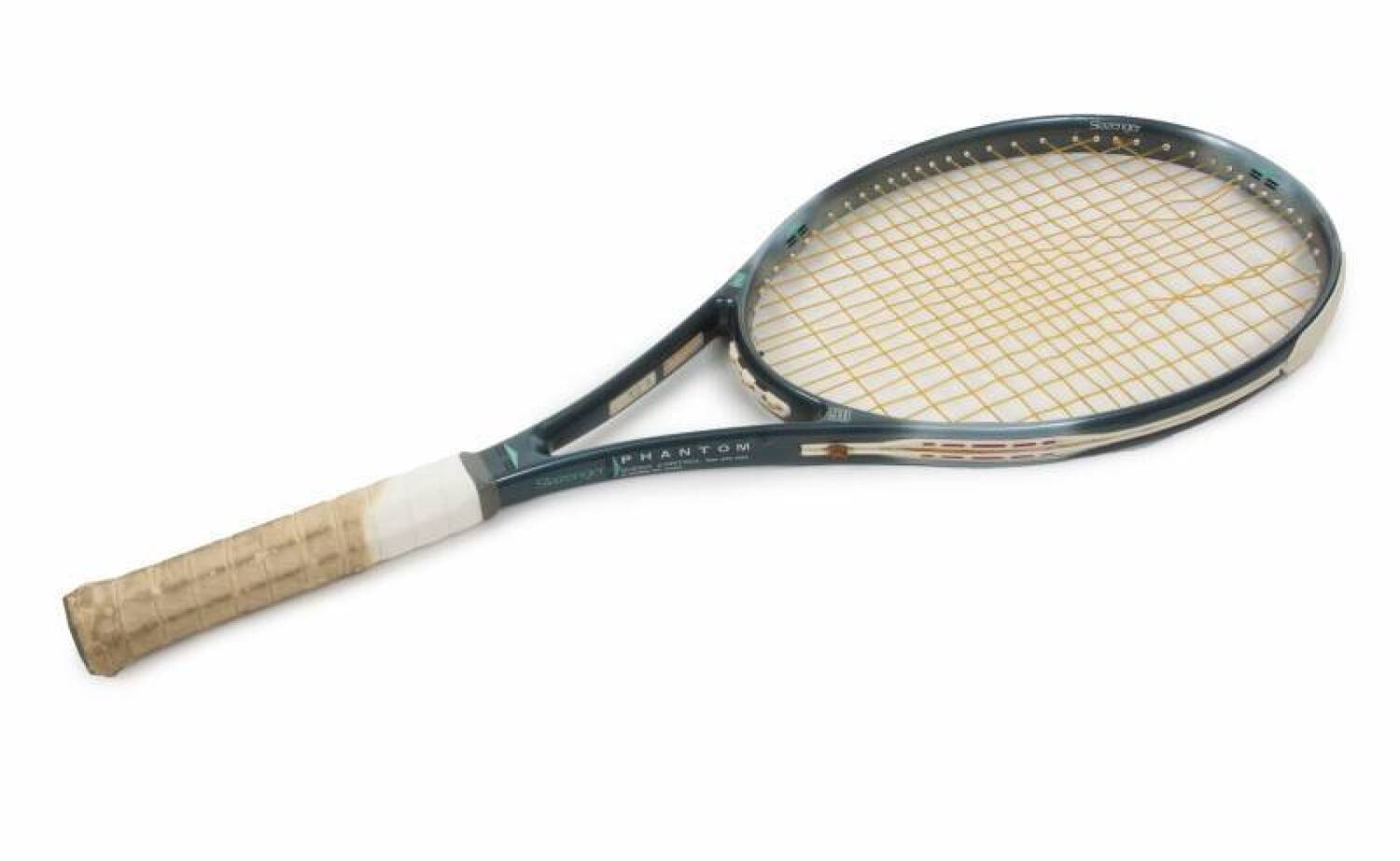 JOHN McENROE OWNED AND USED TENNIS RACQUET GIFTED FROM JIMMY CONNORS ... 671c6a9ae