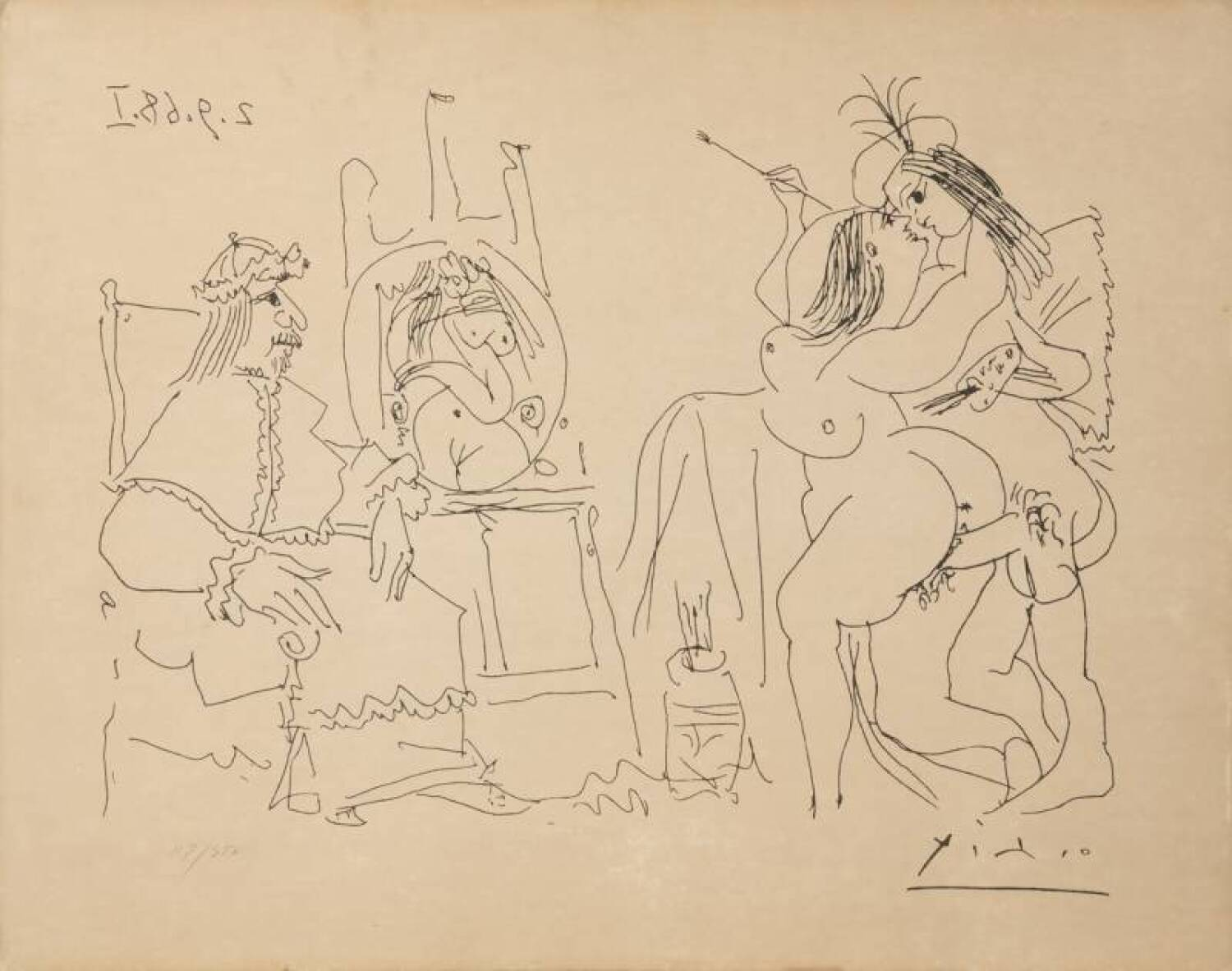 lot 369 of 641 pablo picasso series 347 erotic prints