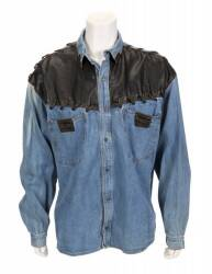 DAVID HASSELHOFF DENIM SHIRT