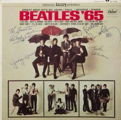 THE BEATLES SIGNED BEATLES '65 ALBUM •