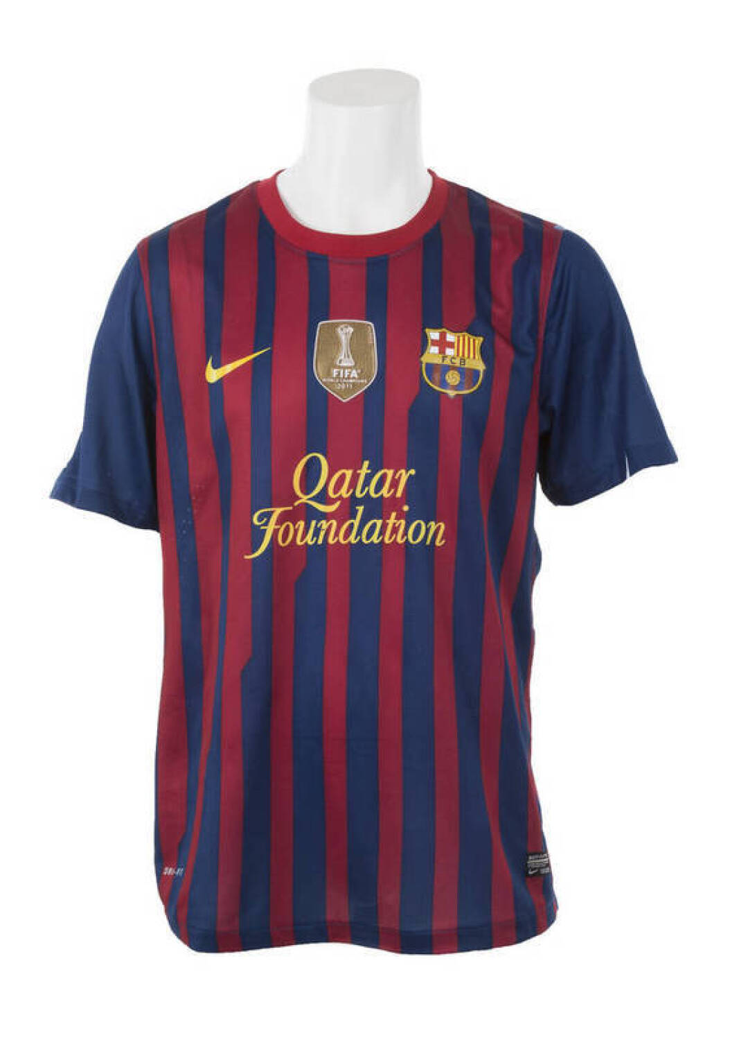 detailed look b31d9 74e1e LIONEL MESSI 2011-12 FC BARCELONA GAME WORN JERSEY - Price ...