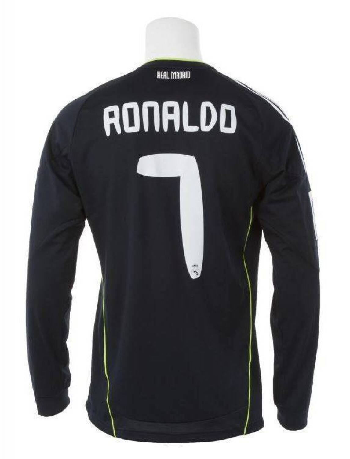 wholesale dealer bce2f 79925 CRISTIANO RONALDO 2010-11 REAL MADRID GAME WORN JERSEY ...