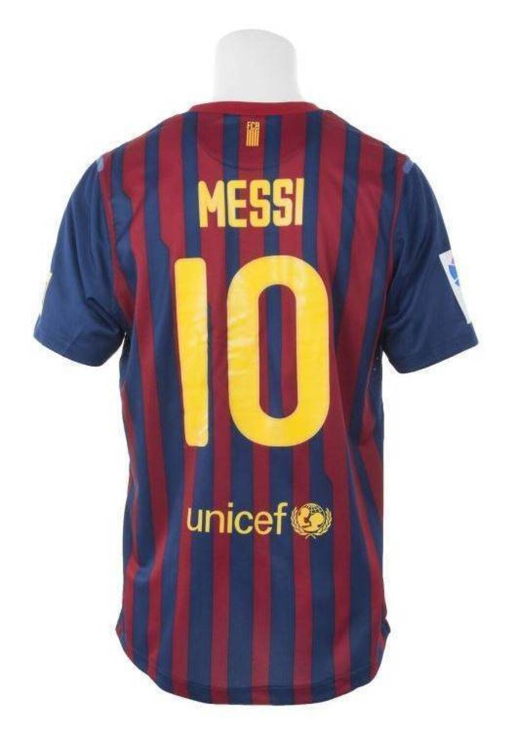 47abe26d3 LIONEL MESSI 2011-12 FC BARCELONA GAME WORN JERSEY - Current price   1100