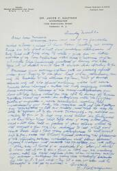 MARILYN MONROE RECEIVED AND KEPT LETTERS