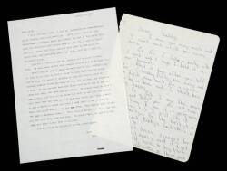ARTHUR MILLER LETTERS FROM HIS CHILDREN