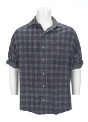 "PATRICK SWAYZE ""BLACK DOG"" WORN FLANNEL SHIRT"