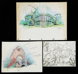 THE LITTLE MERMAID CONCEPT ART