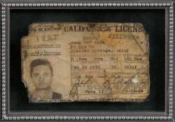JOHNNY CASH DRIVER'S LICENSE