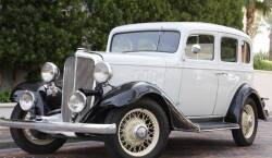 1933 CHEVROLET MASTER EAGLE SERIES CA FOUR-DOOR 5-PERSON SEDAN