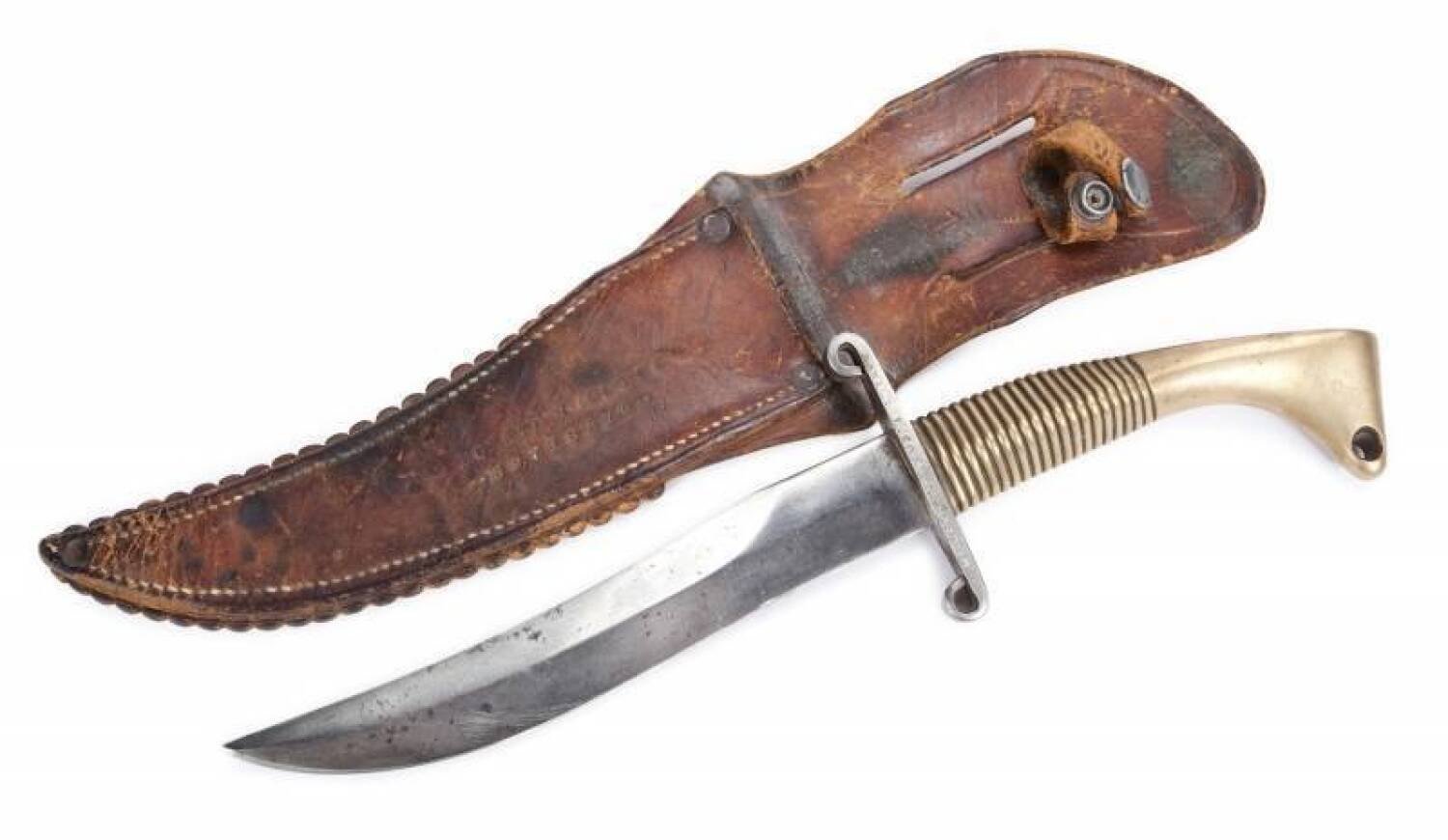 FLOYD NICHOLS WORLD WAR II KNIFE - Current price: $700