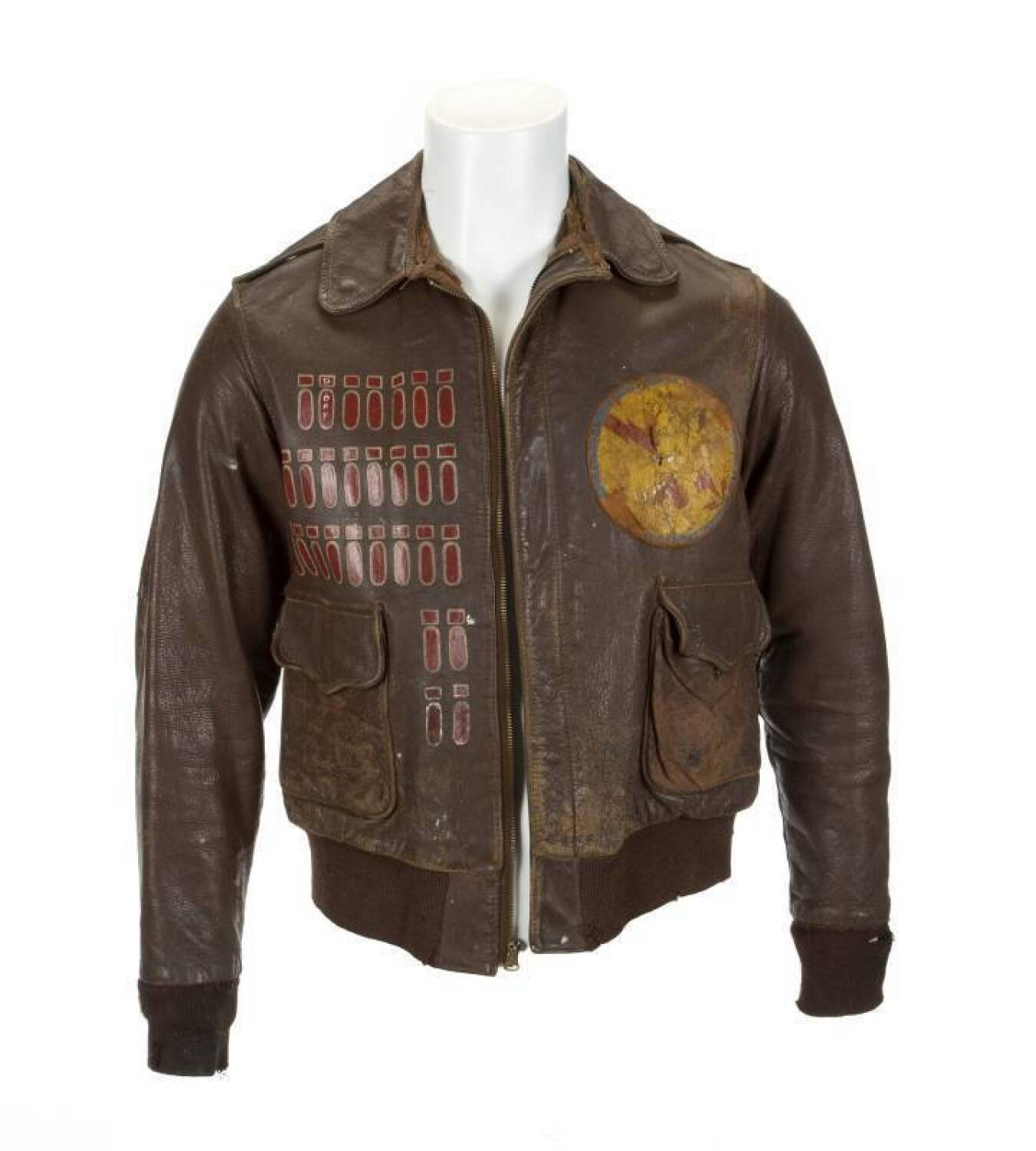 WORLD WAR II BOMBER JACKET - Current price: $2000