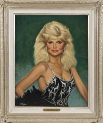 LONI ANDERSON PAINTING BY FRED WILLIAMS