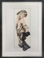 LONI ANDERSON OWNED LIMITED EDITION PRINT