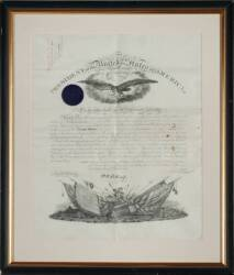 PRESIDENT ULYSSES S. GRANT SIGNED DOCUMENT