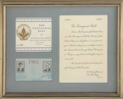 JOHN F. KENNEDY INAUGURAL TICKETS
