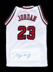 MICHAEL JORDAN SIGNED LIMITED EDITION MJ CAREER TRIBUTE WASHINGTON ...